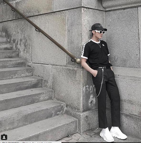 Chi Dan, Son Tung M-TP me sneakers trang hinh anh 10