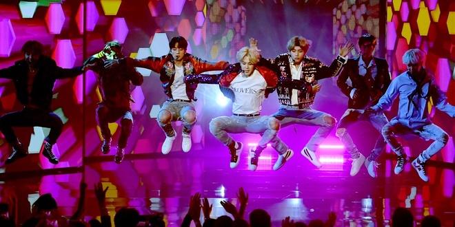 BTS dai dien 'lan song moi' cua Kpop tan cong thi truong am nhac My hinh anh 1