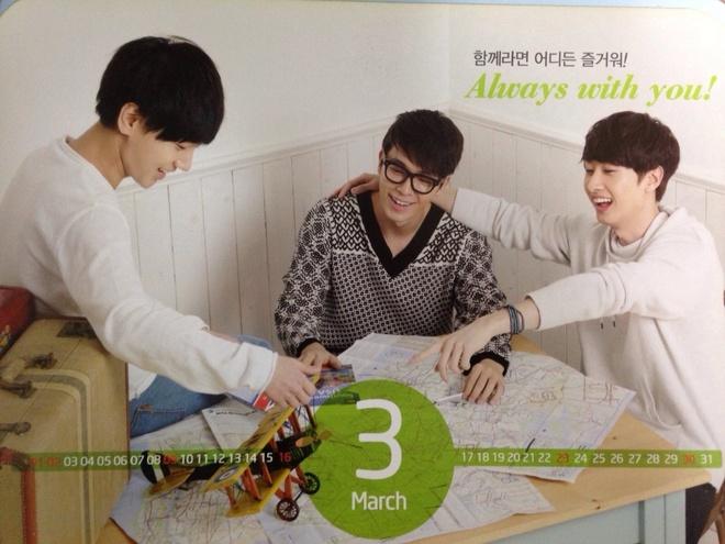 Super Junior nhi nhanh chup anh lich 2014 hinh anh 5