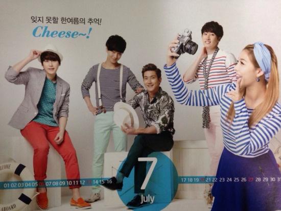 Super Junior nhi nhanh chup anh lich 2014 hinh anh 9
