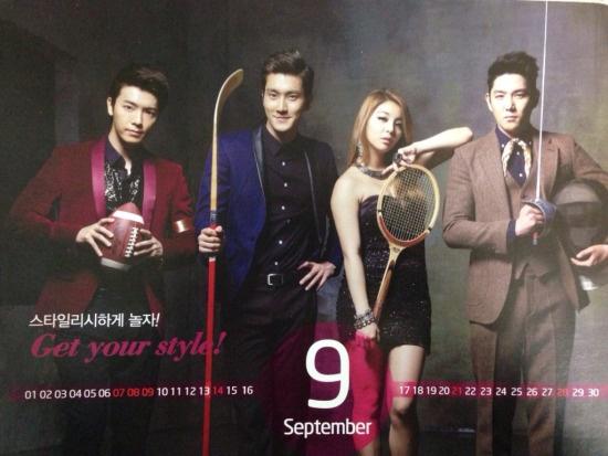 Super Junior nhi nhanh chup anh lich 2014 hinh anh 11