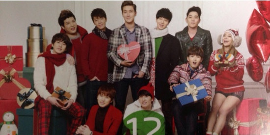 Super Junior nhi nhanh chup anh lich 2014 hinh anh 12
