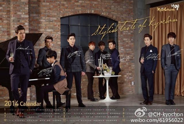 Super Junior nhi nhanh chup anh lich 2014 hinh anh 2