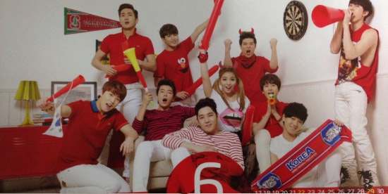 Super Junior nhi nhanh chup anh lich 2014 hinh anh 8