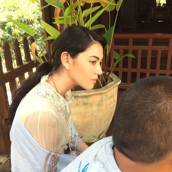 Fan thich thu voi anh ngay be cua 'ma nu' Thai hinh anh 8
