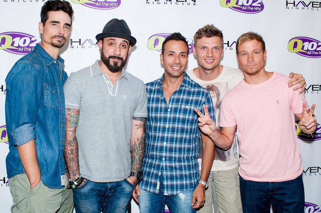 Backstreet Boys di tour cung Avril Lavigne hinh anh 1