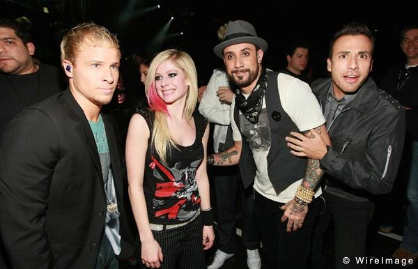 Backstreet Boys di tour cung Avril Lavigne hinh anh 2
