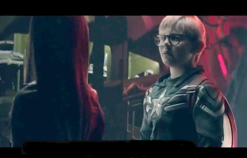 Trailer phien ban nhi cua 'Captain America' gay sot hinh anh
