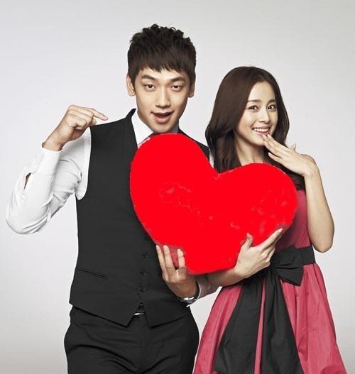 Diem chung thu vi cua Bi Rain, Kim Tae Hee hinh anh