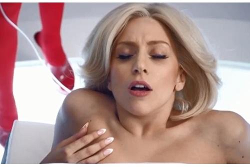 Lo clip nude phan cam cua Lady Gaga hinh anh