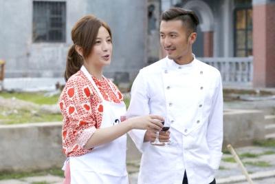 Trieu Vy vao bep cung Ta Dinh Phong hinh anh
