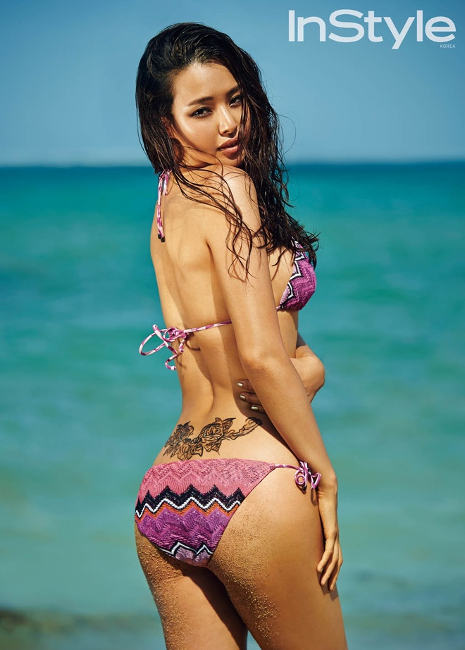 Honey Lee nong bong voi bikini hinh anh 6 Lee Honey