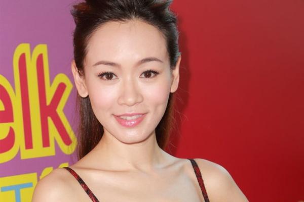 Hoa hau TVB hat quan bar de muu sinh hinh anh
