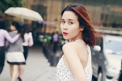 Luu Huong Giang mac dep hon vi so chong chan hinh anh