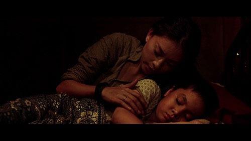Vai diễn đáng chú ý nhất của cậu bé là Hùng, con trai của Ngô Thanh Vân trong phim Lửa Phật.