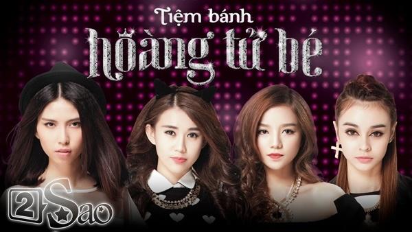 4 cô nàng hot girl tài năng thuộc nhiều lĩnh vực như người mẫu Thuỳ Dương, ca sĩ MLee,  hotgirl Ngọc Thảo và ngôi sao thời trang Hạ Anh xuất hiện trong Tiệm bánh Hoàng tử bé 2.