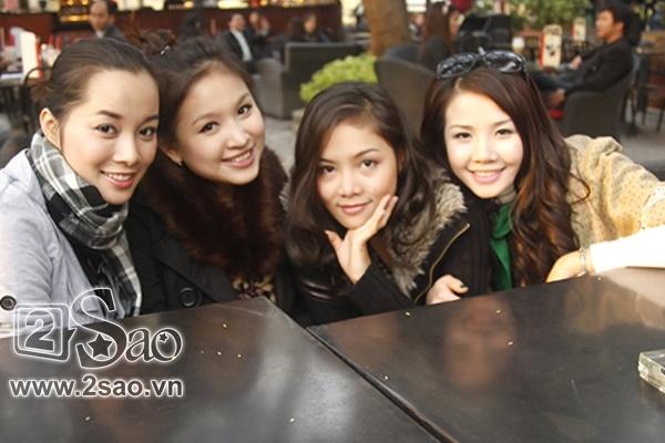 Nhiều năm sau khi bộ phim kết thúc, bốn cô nàng vẫn rất thân thiết với nhau.