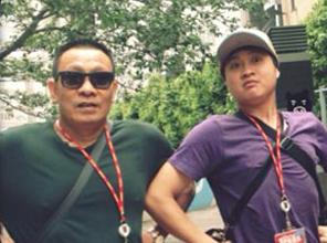 Anh doi thuong hai huoc cua MC Lai Van Sam, Long Vu hinh anh