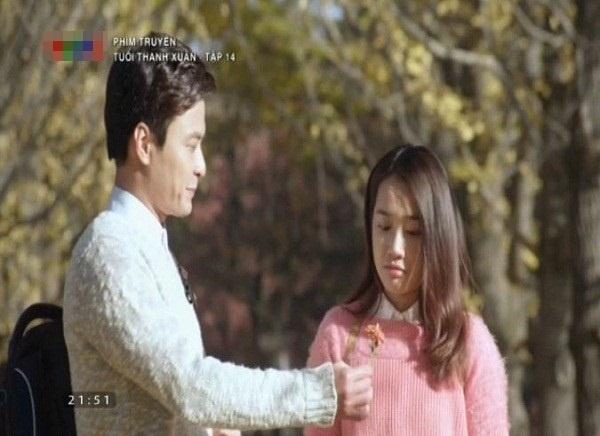 Khoanh khac ngot ngao cua Nha Phuong va Hong Dang tren phim hinh anh 13