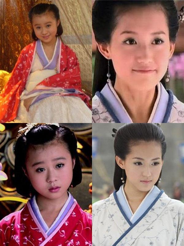 'Ban sao nhi' cua sao Hoa ngu hinh anh 3 Đổng Tuệ nhí nhảnh khi vào vai Hoàng hậu Trương Yên lúc nhỏ trong bộ phim  Mỹ nhân tâm kế. Phiên bản khi trưởng thành do Tô Thanh thể hiện.