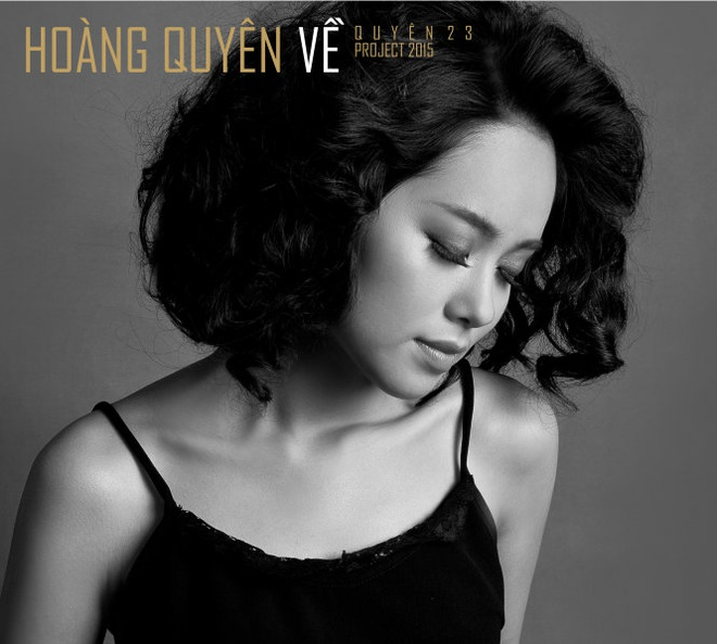 'Dam dong kieu de Le Roi thanh hien tuong thi phai xem lai' hinh anh 3 Hoàng Quyên với hình ảnh mới trong album Về.