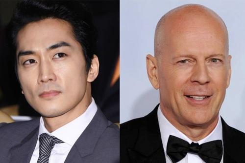 Song Seung Hun dong phim chien tranh cung Bruce Willis hinh anh