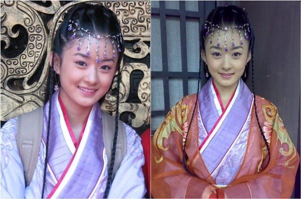 Đóng quảng cáo xong, Triệu Lệ Dĩnh đã tham gia một khóa học diễn xuất ở Bắc Kinh.  Chỉ sau hai tháng, diễn xuất của cô đã tiến bộ một cách đáng kinh ngạc, gây bất ngờ  cho đạo diễn bộ phim Nam Việt Vương. Nhờ thế, cô được vị đạo diễn này  chọn thể hiện vai Tiểu Hoàng hậu trong phim.