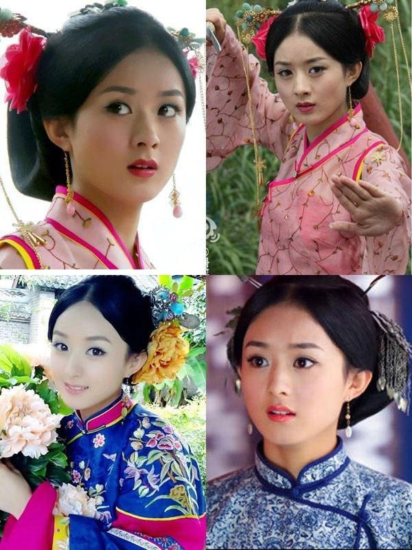 Năm 2012, Triệu Lệ Dĩnh vào vai Bách Hợp trong bộ phim truyền hình Cung Tỏa  Châu Liêm. Dù hợp tác với một dàn mỹ nhân, nhưng cô nàng vẫn trông rất nổi bật.
