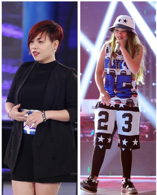 Luat ngam nghiet nga dang sau gameshow Viet hinh anh 1 Hai ca sĩ thi hát của hai cuộc thi hot nhất hiện nay.