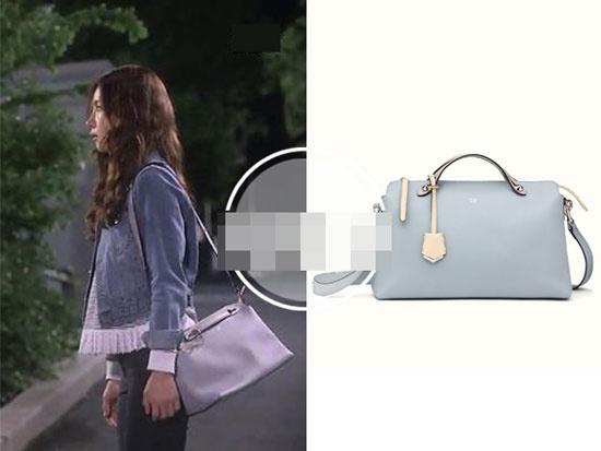 Boc gia hang hieu cua my nhan Han trong phim hinh anh 3 Túi đeo với giá khoảng 42 triệu, gam màu trang nhã là hiệu Fendi.