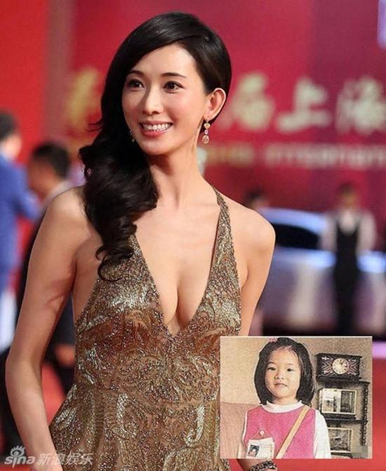 """Khó có thể tưởng tượng được cô gái nhỏ này sẽ làm điên đảo nền giải trí Đài Loan trong tương lai. Lâm Chí Linh khá dễ thương khi còn nhỏ nhưng nhiều ý kiến cho thấy """"chân dài hàng đầu xứ Đài"""" đổi khác khá nhiều, từ đôi mắt đến dáng mũi."""