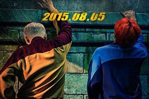 GD & TOP tung anh 'doc' nha hang MV moi hinh anh