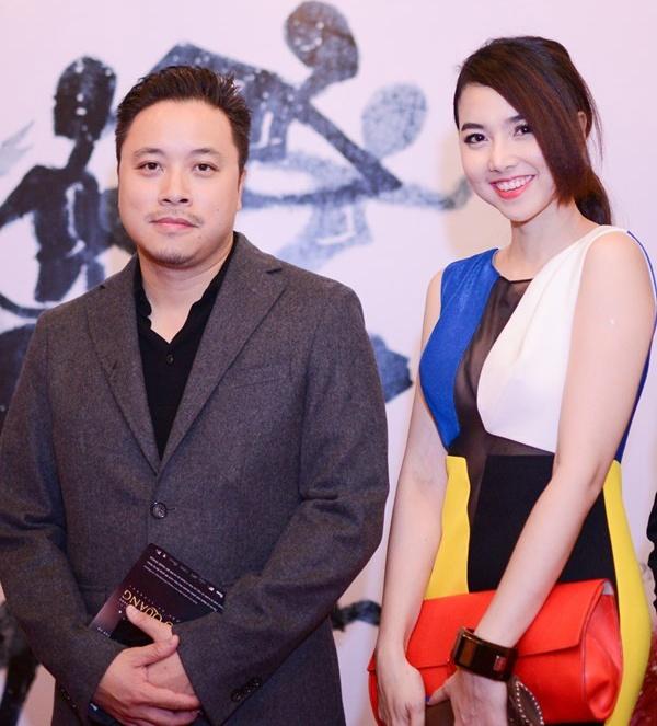 My nhan ruot cua cac dao dien noi tieng Viet Nam hinh anh 5 Gần đây, nhiều thông tin cho rằng Đinh Ngọc Diệp đang hẹn hò với Victor Vũ.