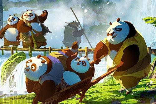 'Kung Fu Panda 3' he lo boi canh dep nhu mo hinh anh