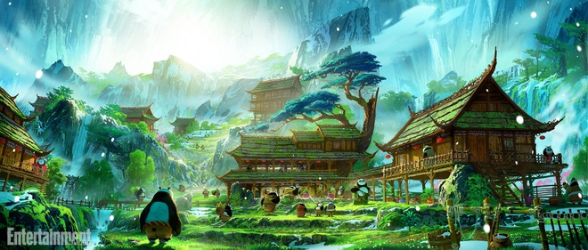 'Kung Fu Panda 3' he lo boi canh dep nhu mo hinh anh 4