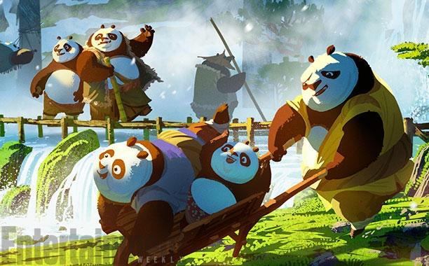 'Kung Fu Panda 3' he lo boi canh dep nhu mo hinh anh 6