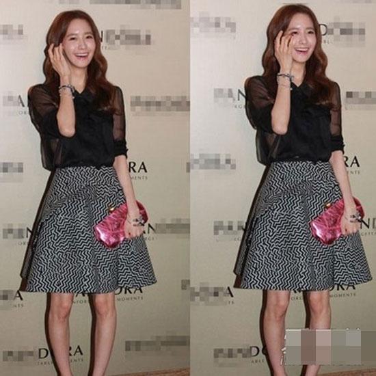 Đôi chân cực xấu, vừa vòng kiềng lại vừa nhỏ của Yoona.