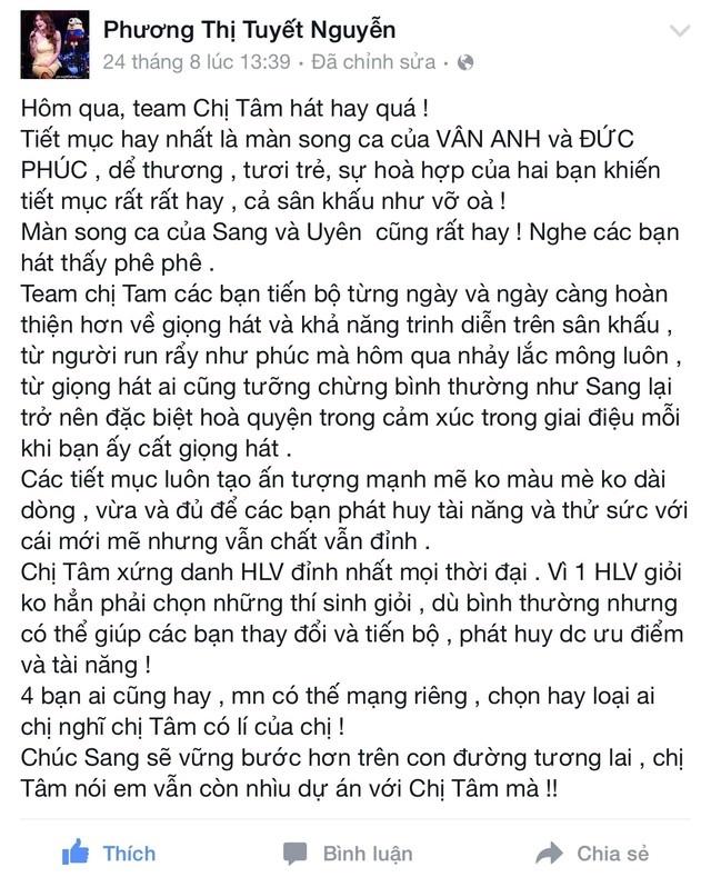 Doi My Tam va nhung cai nhat trong Giong hat Viet hinh anh 3