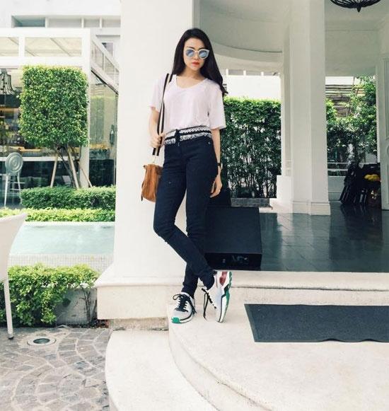 Street style cuc an tuong cua sao Viet tuan qua hinh anh 12