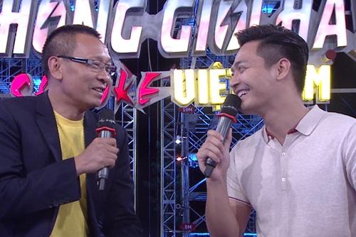 MC Phan Anh luyen tap de tham gia Sasuke 2016 hinh anh