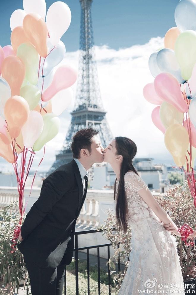 Anh cuoi cua Huynh Hieu Minh va Angelababy tai Paris hinh anh 2