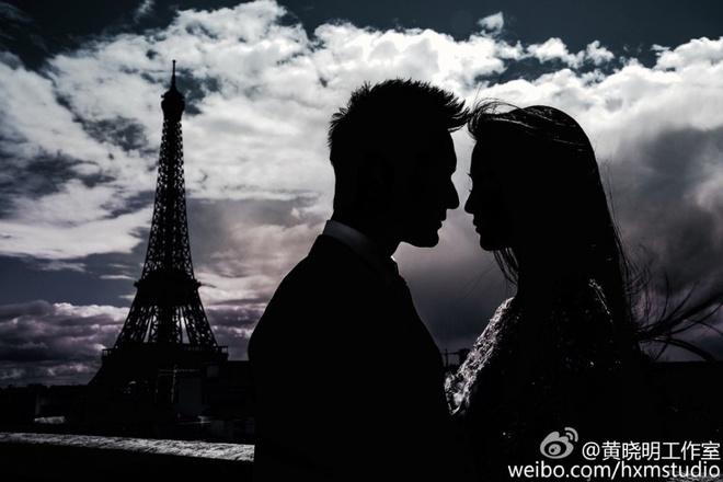Anh cuoi cua Huynh Hieu Minh va Angelababy tai Paris hinh anh 3