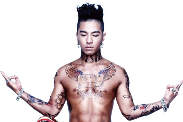 G-Dragon - Tae Yang khoe anh di xam hinh anh