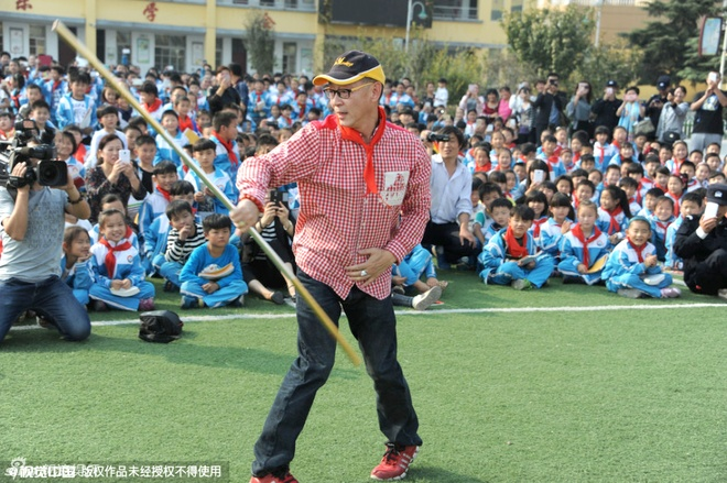 Luc Tieu Linh Dong mua gay cho hoc sinh tieu hoc hinh anh 2