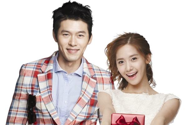Yoona (SNSD) dong cap cung Hyun Bin hinh anh