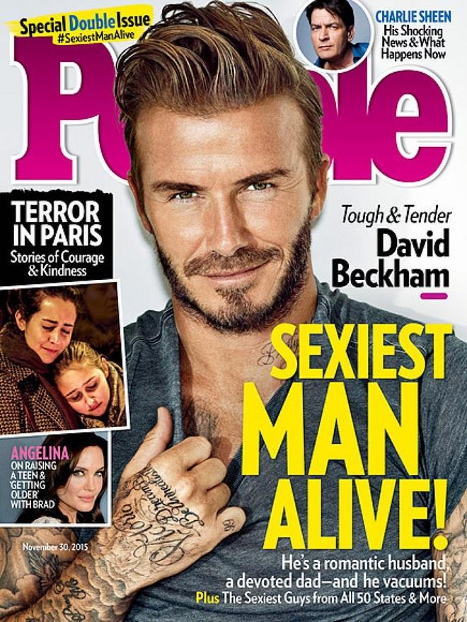 David Beckham la nguoi dan ong duong dai sexy nhat 2015 hinh anh 2