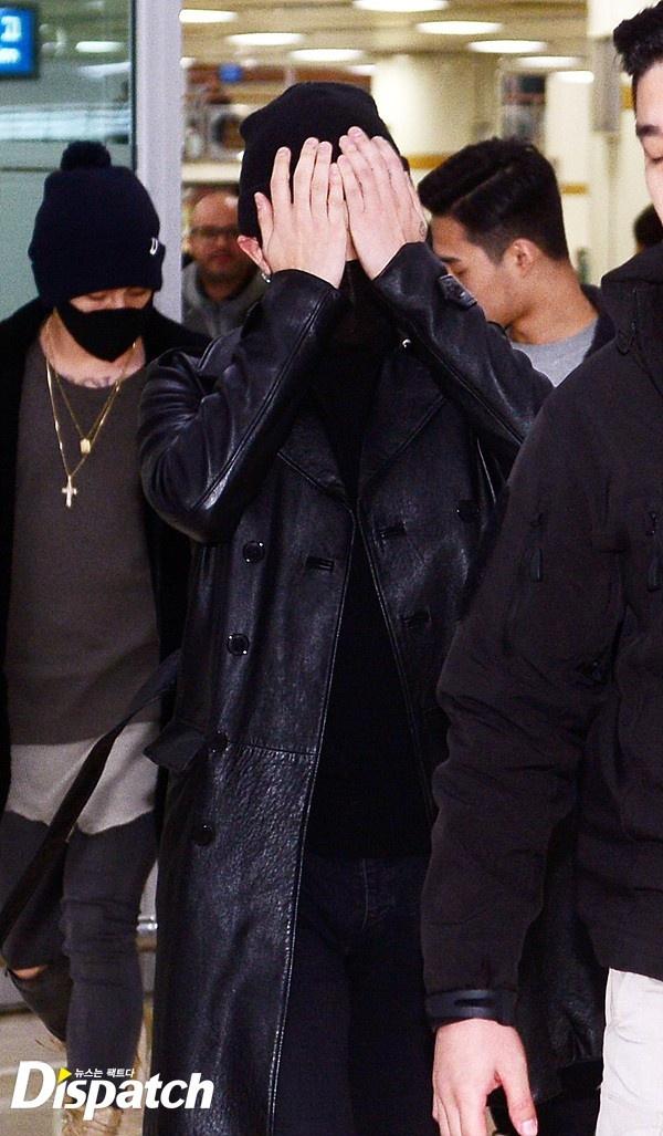 G-Dragon trum kin mat o san bay hinh anh 2