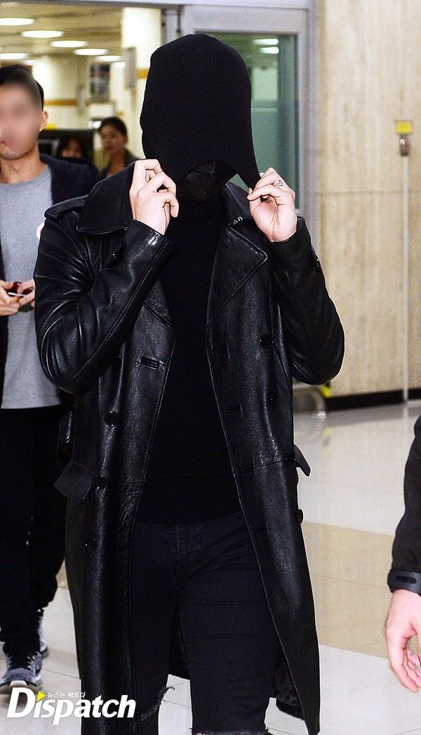 G-Dragon trum kin mat o san bay hinh anh 4