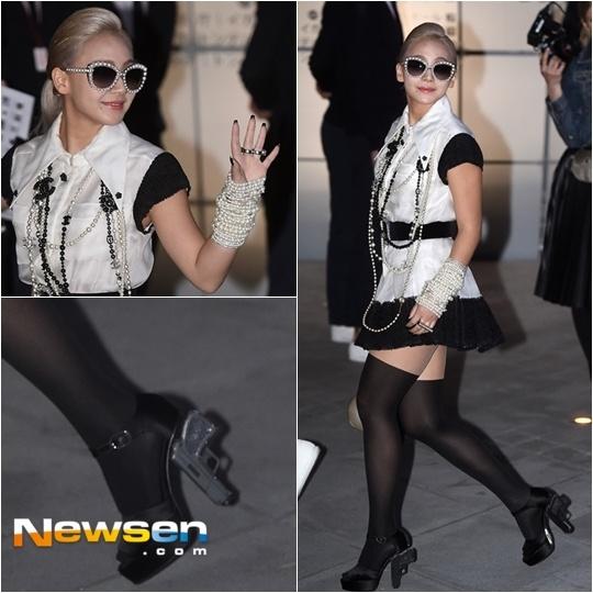 Thoi trang xau - dep cua CL (2NE1) hinh anh 5
