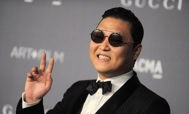 Psy danh mat dam me ca hat sau 'Gangnam Style' hinh anh